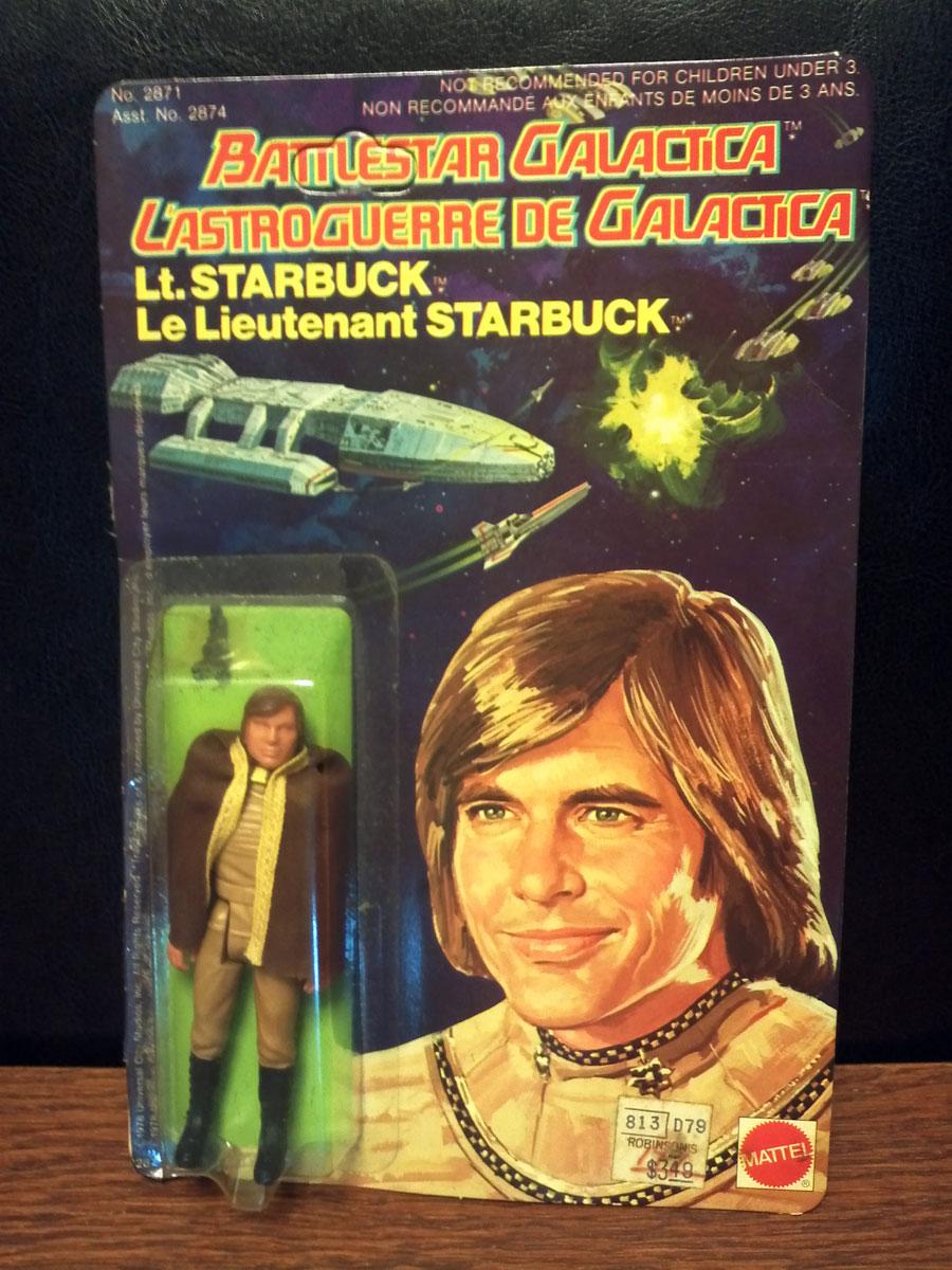 Battle Star Galactica Lt. Starbuck in original package