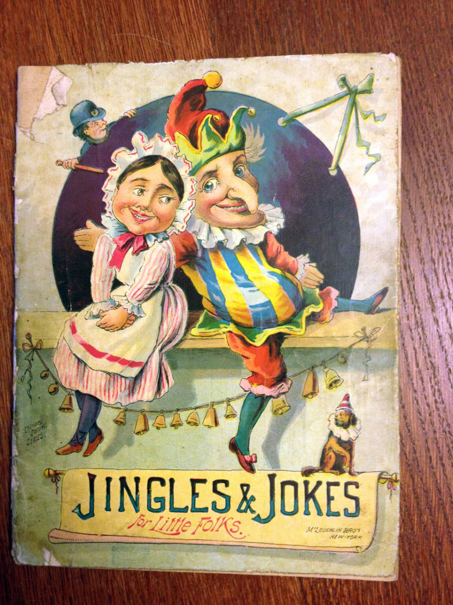 Jingles and Jokes (for little folks) – McLoughlin Bros ca 1880