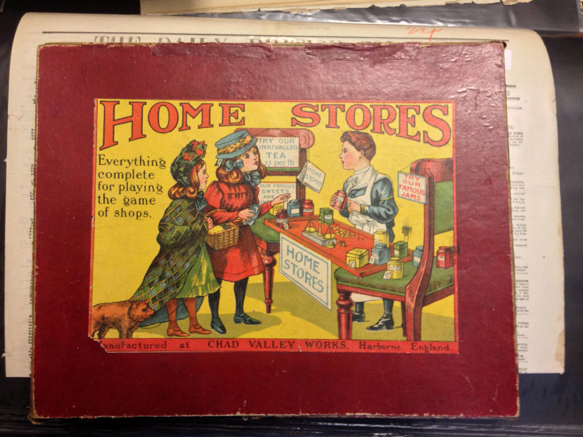 Home Stores Play Set Ca 1910