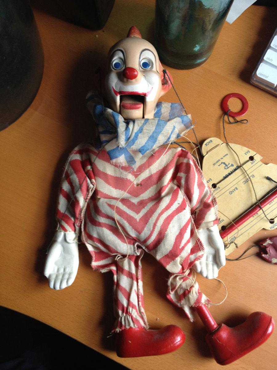Clarabelle Howdy Doody Marionette!