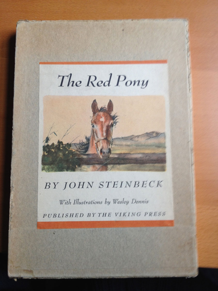 Steinbeck Red Pony First Edition