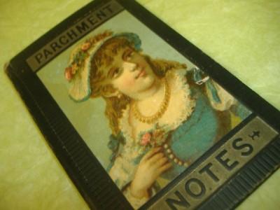 Parchment Notes: Little Black Book – ca 1890