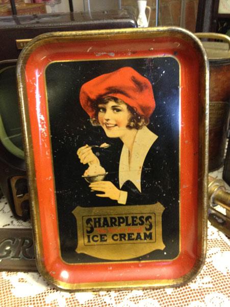 Sharpless Ice Cream Tray c. 1920s