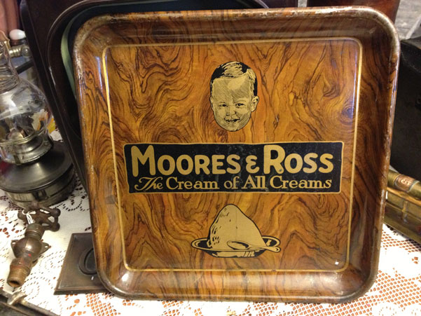 Moores and Ross Ice Cream Tray c.1920