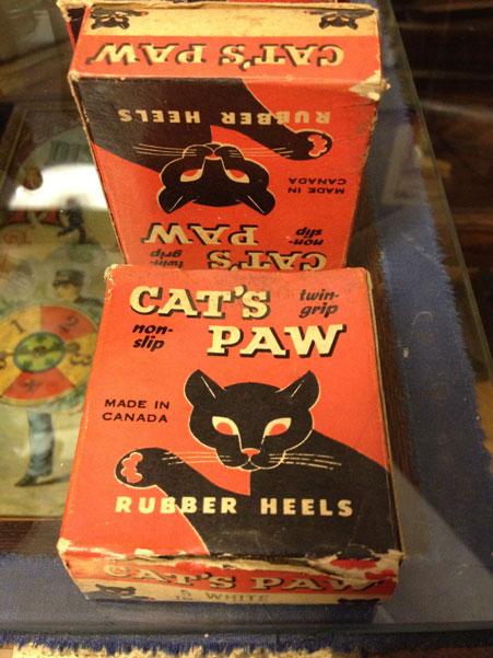 Cat's Paw Rubber Heels