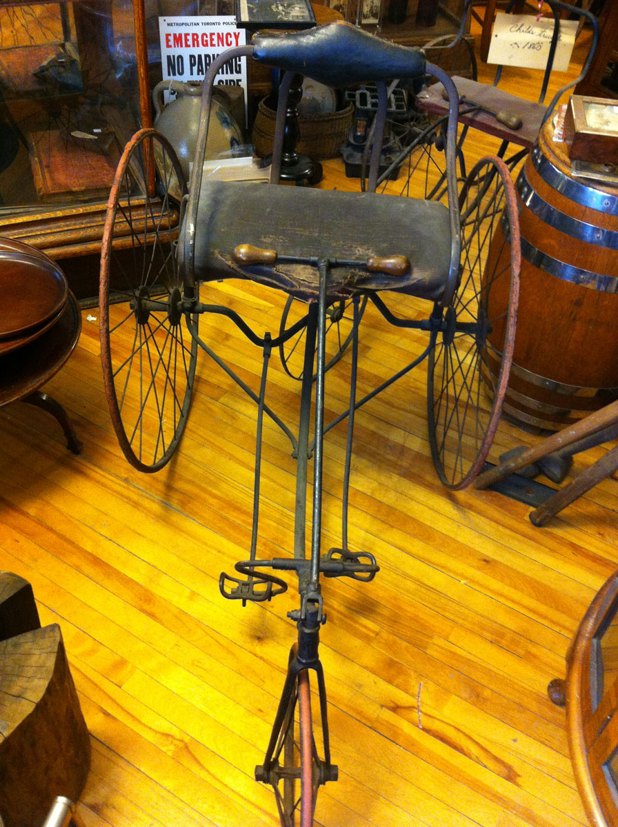 Tricycles 1860s