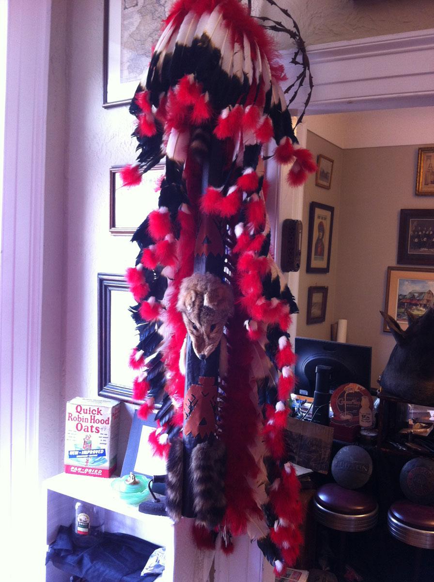 5-foot native headdress