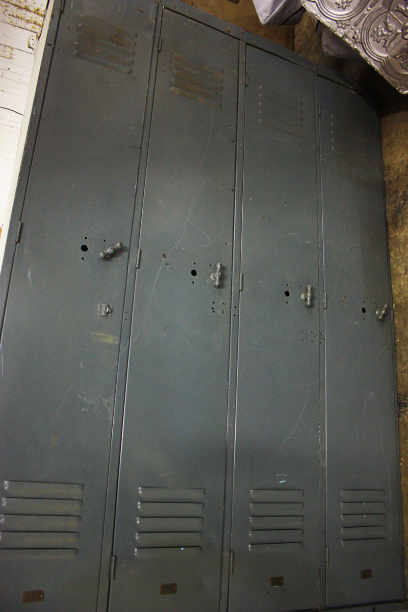 Retro Vintage Lockers