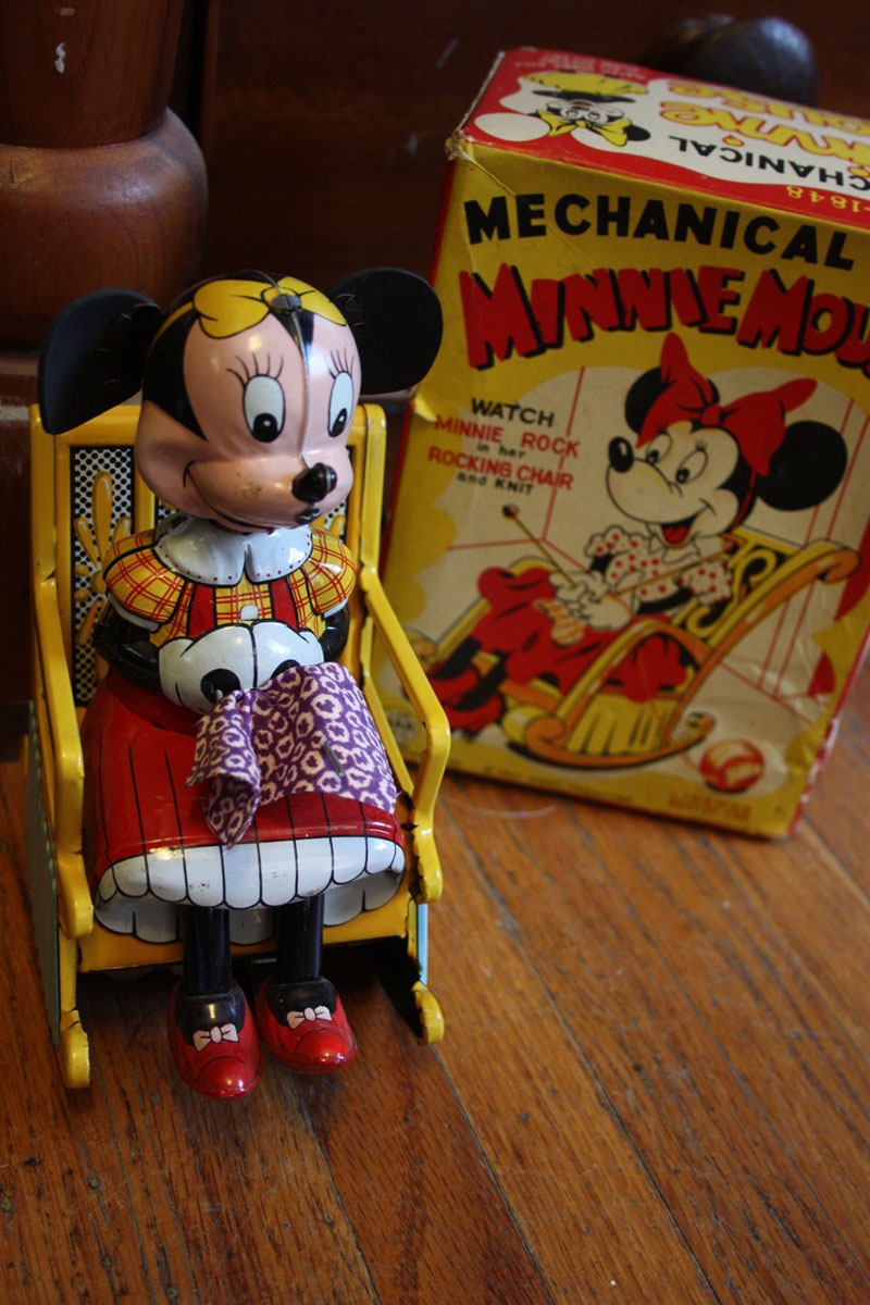 1950 Minnie Mouse Mechanical Toy