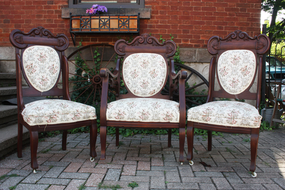40's Ornate Chairs