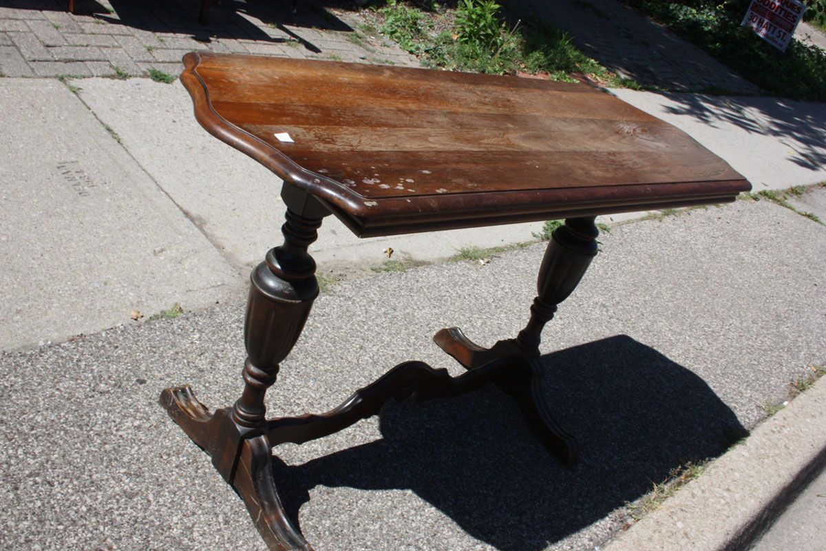 Antique Hall Stretcher Table
