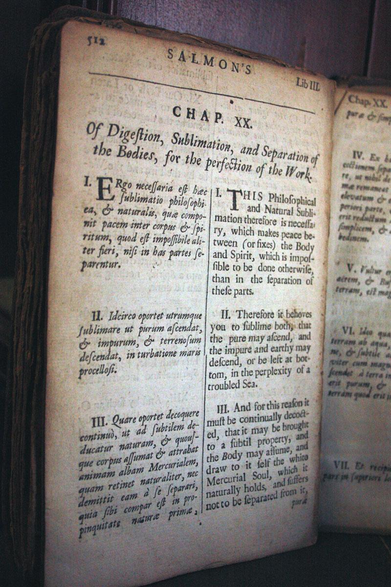 Crazy Rare Alchemy Book 1700's