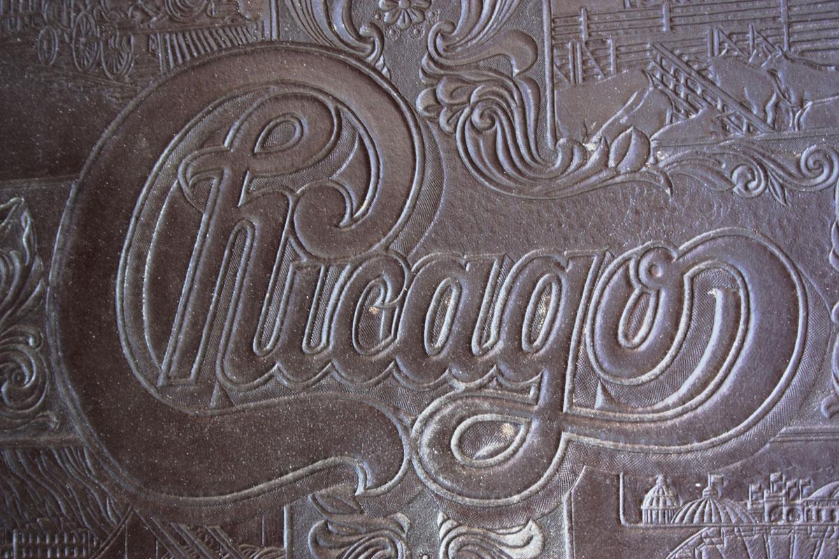 Chicago Record Album Plate