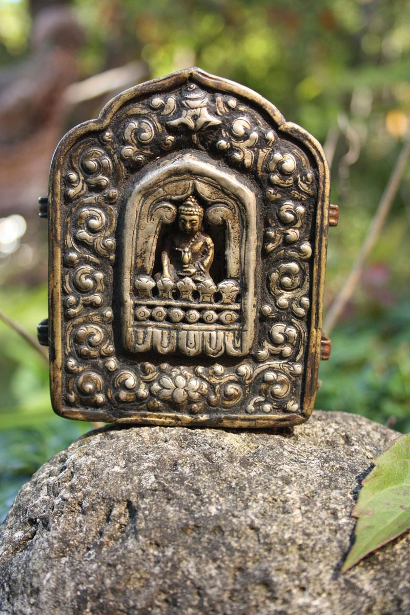 Tibetan Buddhist Gao Prayer Box