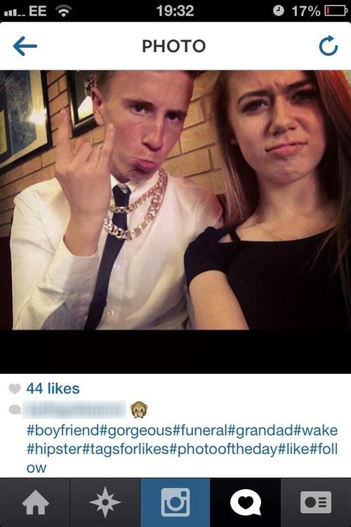 Losing Faith in Humanity – Funeral Selfies