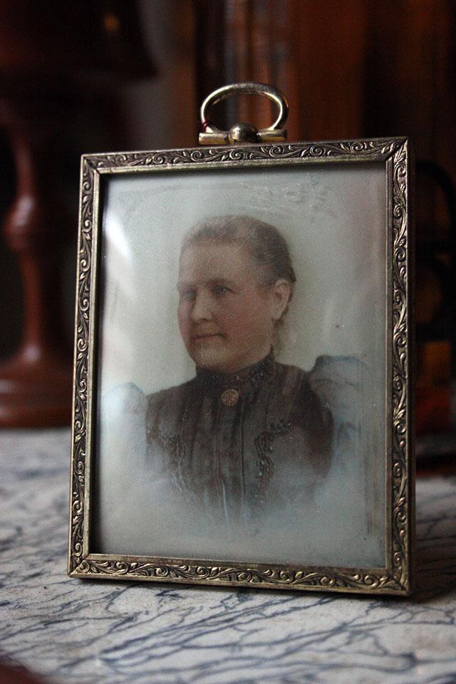 Victorian Hand Painted Portrait