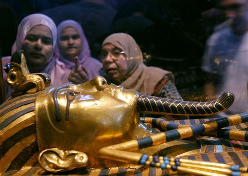 King Tut's Penis Was Buried Erect