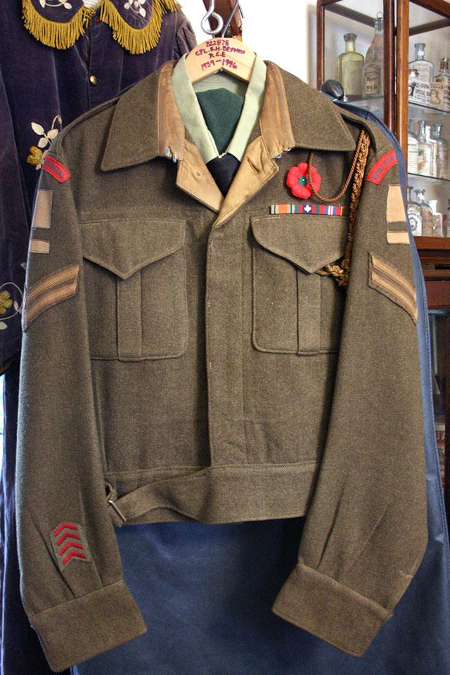 ID'd Korean War Uniform, 'The Forgotten War'