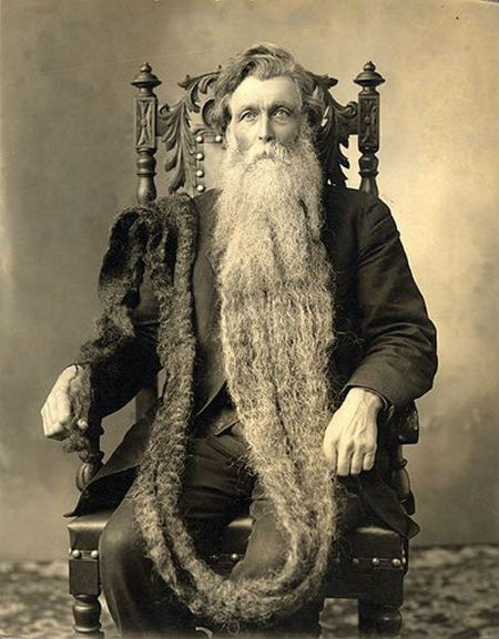 Strange Death – Hans Steininger: The Man with the Longest, and Deadliest, Beard in the World