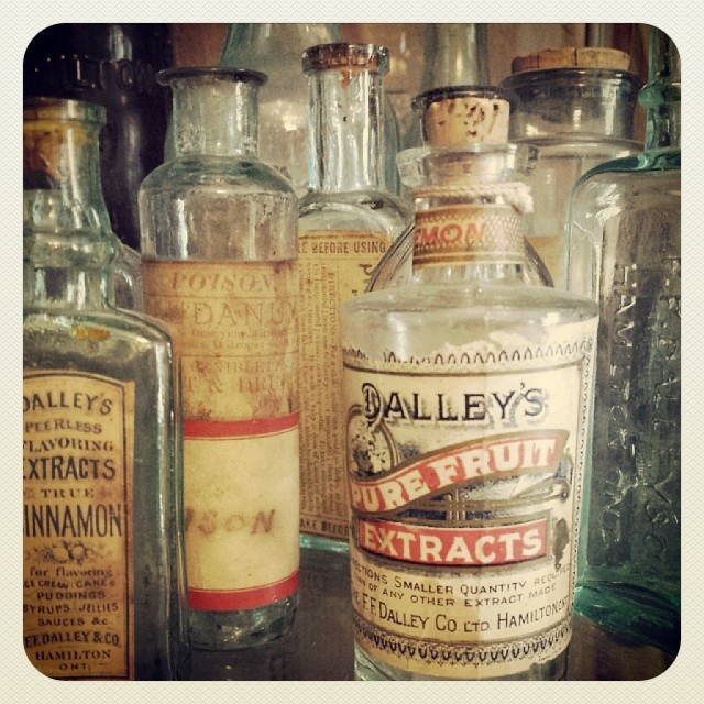 Vintage Bottles at The Cabinet!