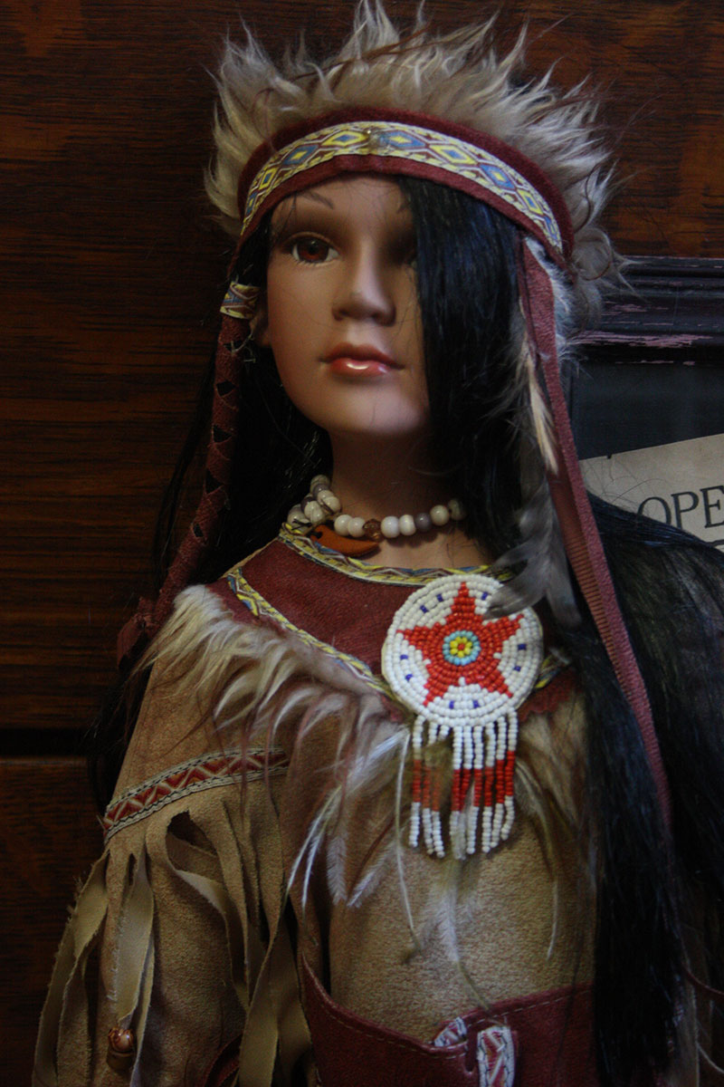 Beautiful Native Indian Doll