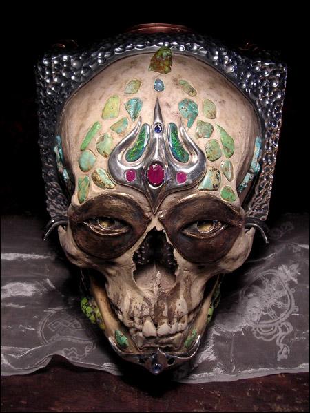 Skull Camera, Through The Eyes Of A 500 Year Old Tibetan