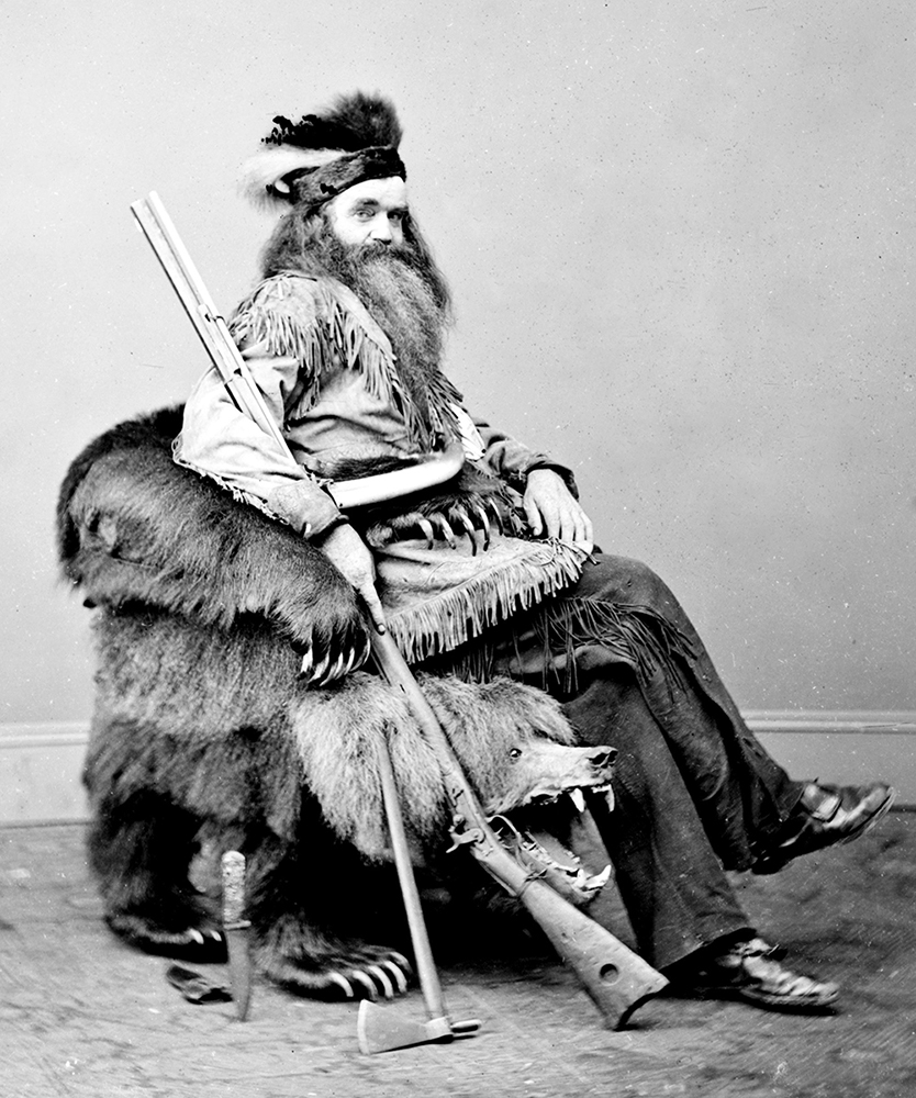 1865: The Grizzly Bear Chair