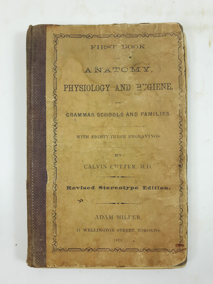 First Book of Anatomy, Physiology and Hygiene, for Grammar Schools ...