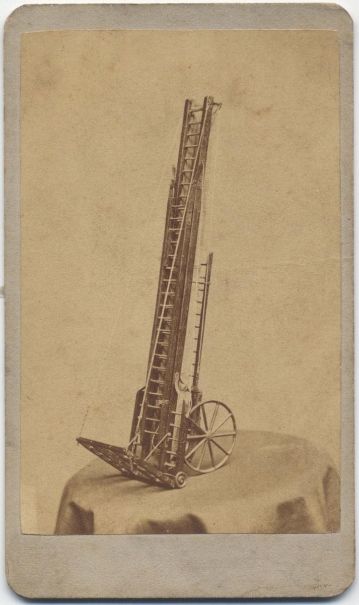 Extension Ladder Patent Model